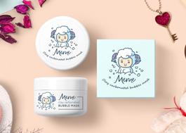 Редизайн упаковки очищающей маски MeMe